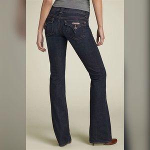 - Hudson - Signature Flap Bootcut Dark Wash Jeans